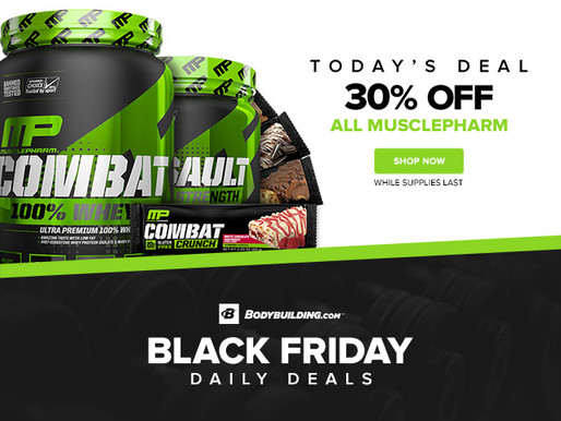 Bodybuilding.com - 30% Off ALL MusclePharm!!