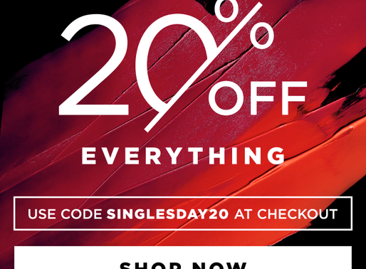 Sigma SINGLES' DAY SALE! 20% Off Sitewide!