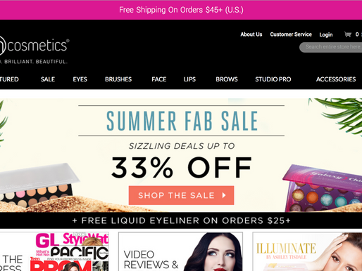 BH Cosmetics Site Sale!