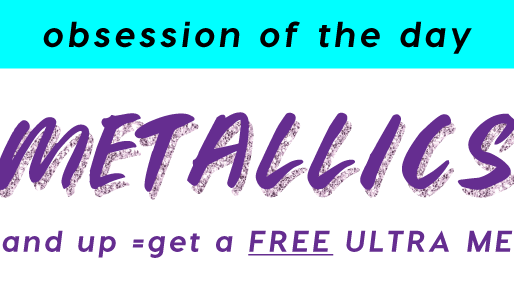 ColourPop! Free Ultra Metallic Lips!!
