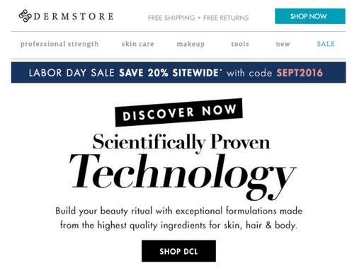 DERMSTORE Sale! 20% off SITEWIDE!!