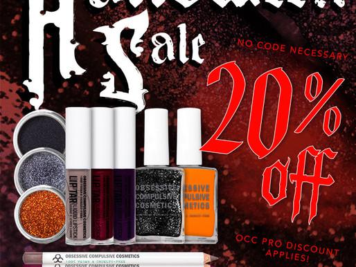 OCC Halloween Sale!
