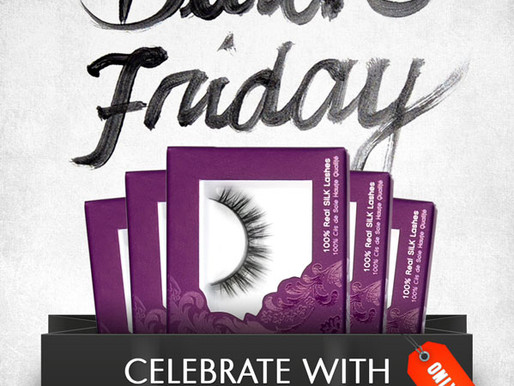 Velour Lashes - First Black Friday Ever!