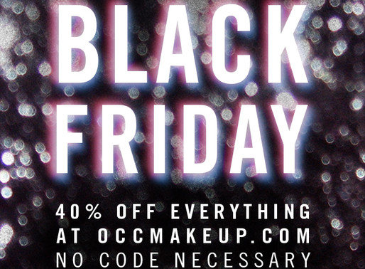 The O.C.C. Black Friday Sale Starts Now! 40% Off EVERYTHING!!!