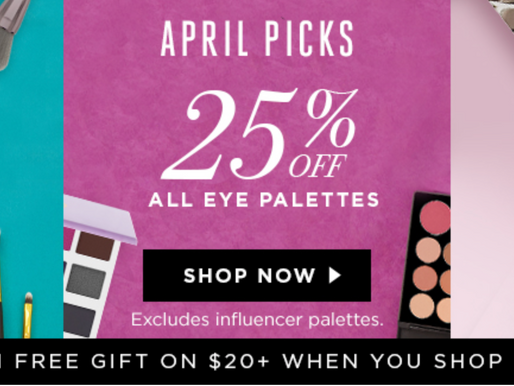 BH Cosmetics: 20%-30% off site wide!