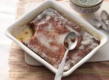 Traditionele Zuid-Afrikaanse Malva Pudding