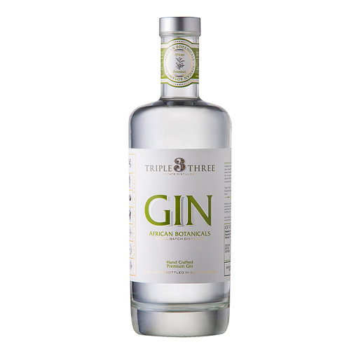 Triple Three African Botanicals Gin
