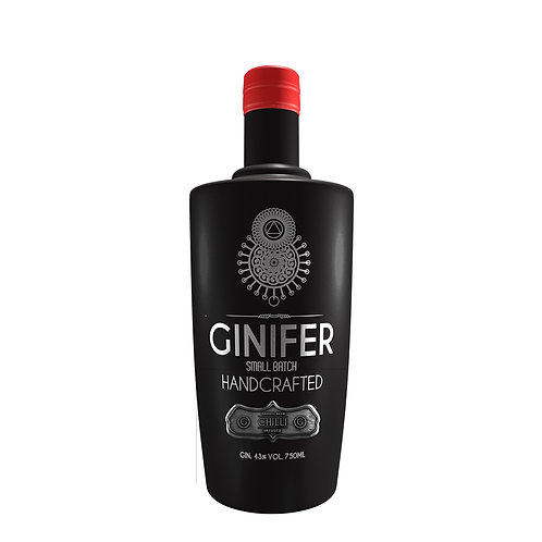 Ginifer Barrel Aged Chili Infusion Gin