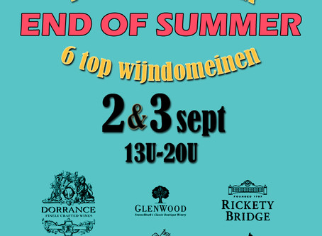 2 & 3 sept: End of Summer event