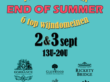 2 & 3 sept: End of Summer event
