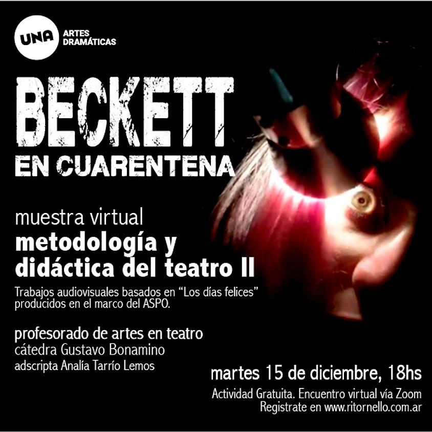 Beckett en cuarentena