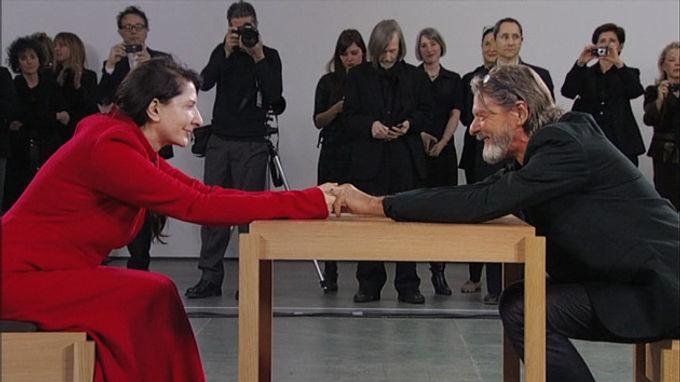 Marina Abramovic en MOMA