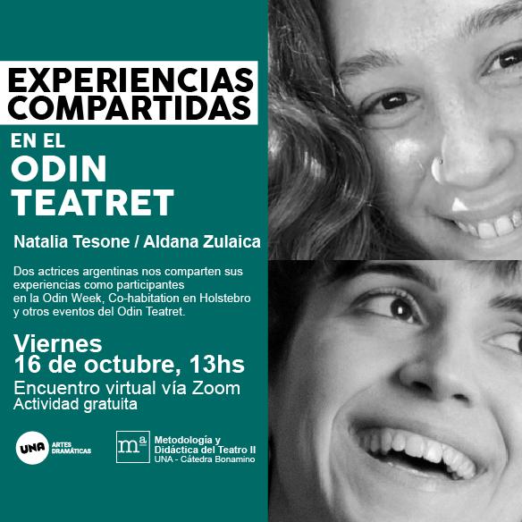 Experiencias Compartidas en el Odin Teatret