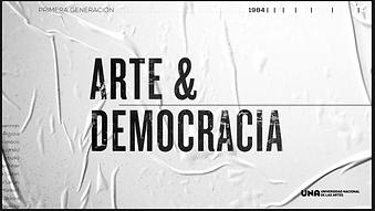 Arte y Democracia