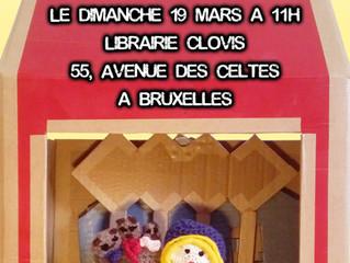 Boucles d'Or à la Librairie Clovis le 19 mars