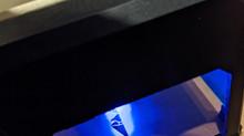 Gravure au laser sur du carton