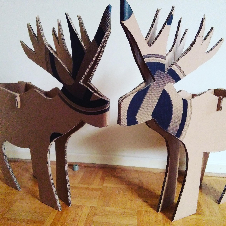 Cerfs de décoration