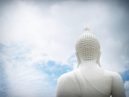 The Buddha walks into an apocalypse. We talk.