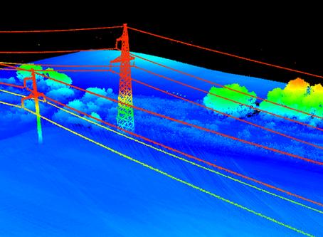 UAV-Based HD Scanning for Power Line Management