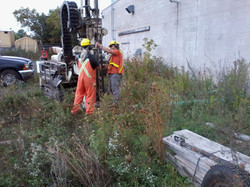 Typical drill job with Geoprobe