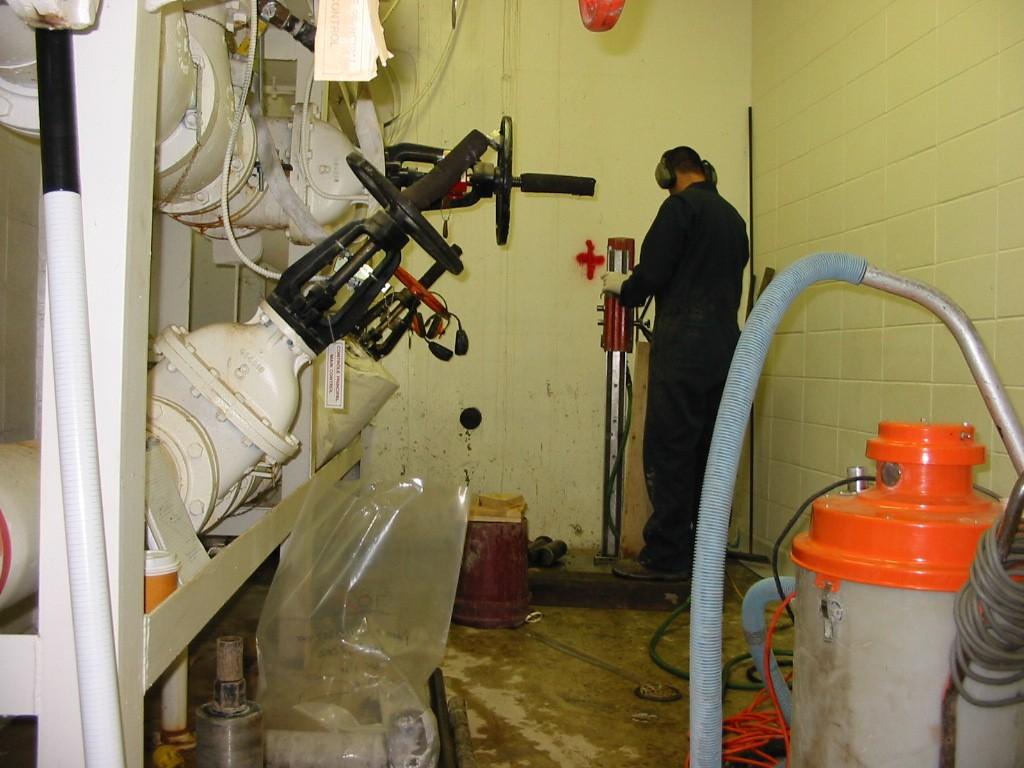 Interior Drilling