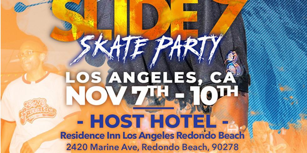 California - Sk8 Fanatics - Cali Slide 9 Skate Party