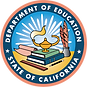 California Department of Education Official Seal