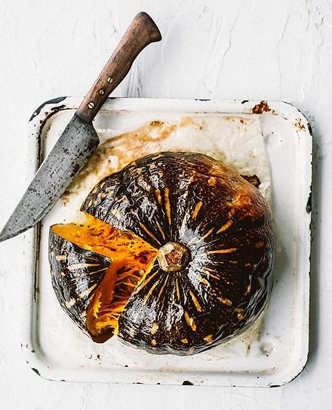 Pumpkin, simples. Shot for The Fit Foodi