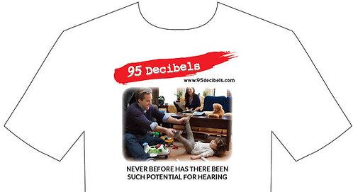T-Shirt, 95 Decibels