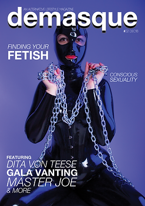 Demasque #02 Print Magazine