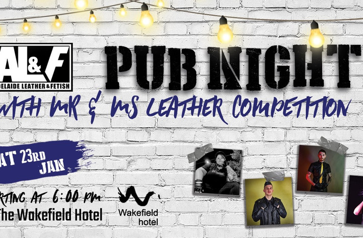Adelaide Leather & Fetish To Host Mr & Ms Leather Competition This January