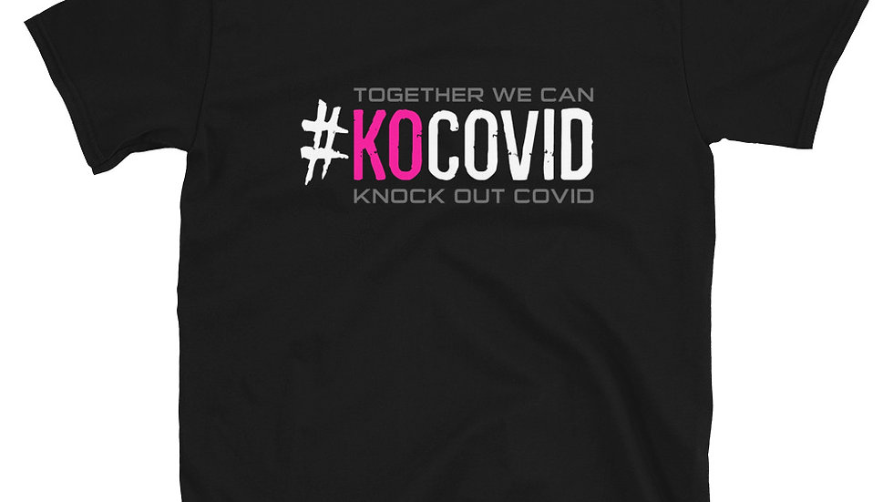 #KOcovid | Call to Action | Adult Tee | Pink
