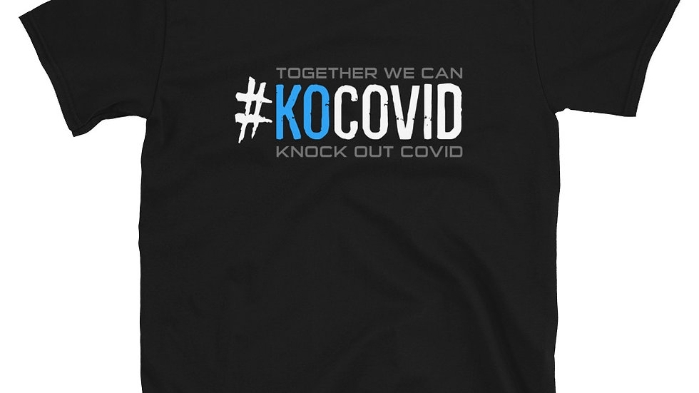 #KOcovid | Call to Action | Adult Tee | Blue