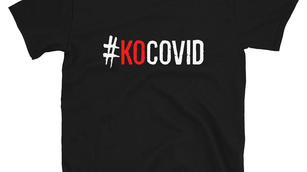 #KOcovid | Logo | Adult Tee | Red