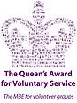 The Queen'sAward for Voluntary Service Logo