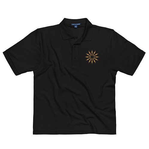 Men's Embroidered Polo