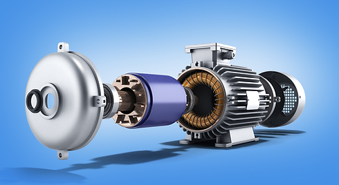 Electric Motor parts, components and con