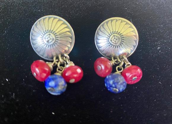 Southwest Medallion Earrings