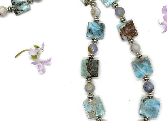 Genuine Larimar Necklace