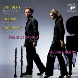 Schubert Prokofiev Brahms CD