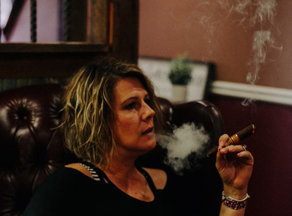 Connie Allen Owner of AME Cigars in Weatherford, TX