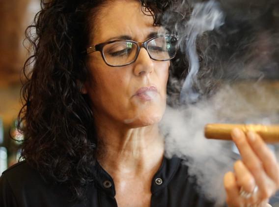 Patty Medina Co-Owner of Cigar Life in Lakeland, FL