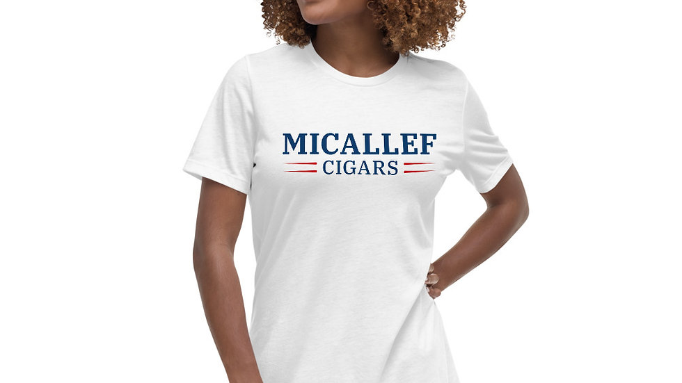 Micallef Cigars Women's Relaxed T-Shirt