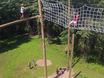 Youth Event: Camp Highroad Ropes Course