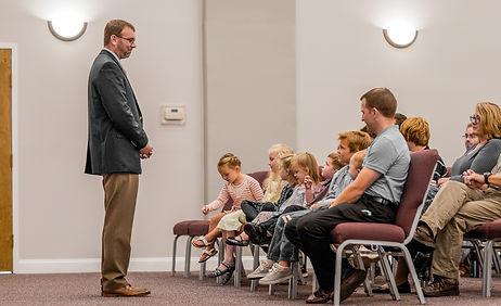 Children's Sermon at Heritage Presbyterian Church
