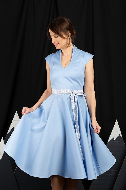 "Kleid ""Gabi"" blau"