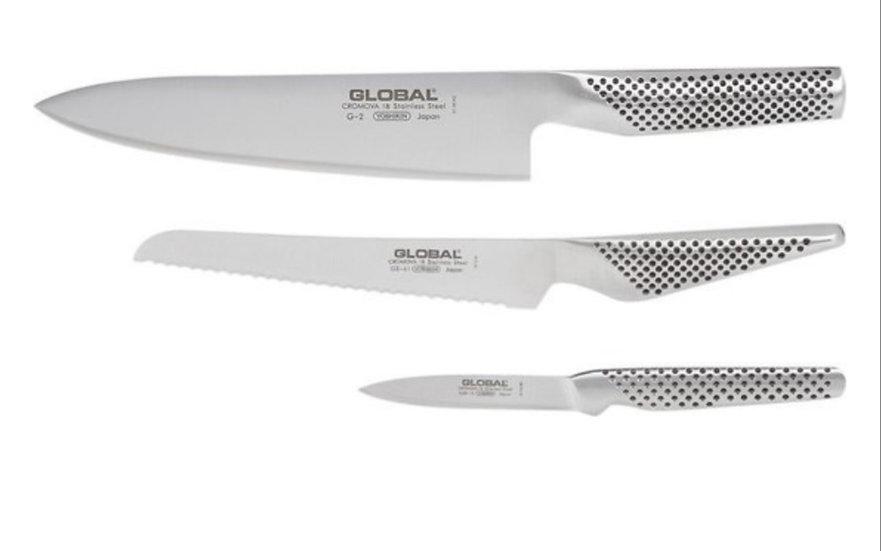 Set de 3 couteaux - 3-delige messenset