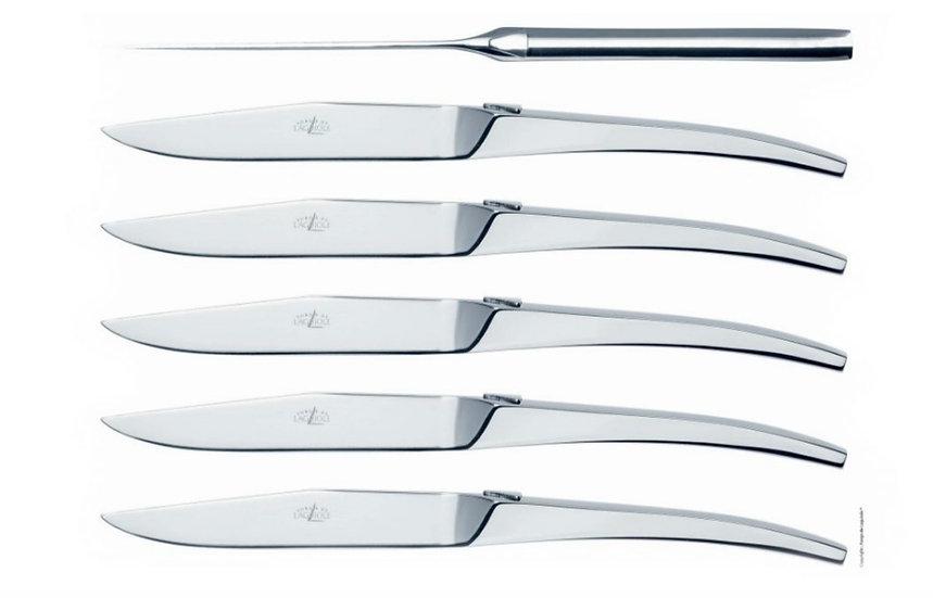 Couteaux de table - Tafelmessen C + B Lefebvre