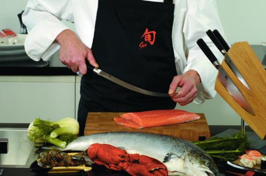 Couteau à jambon & saumon-Ham & zalmmes