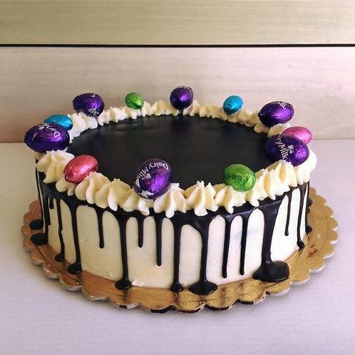 Easter Egg Drip Cake
